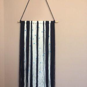 NEW Handmade Macrame Yarn Wall Hanging Decor